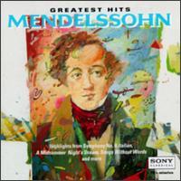 Mendelssohn: Greatest Hits - André Previn (piano); Anner Bylsma (cello); Cho-Liang Lin (violin); David Cerutti (viola); Elly Ameling (soprano);...