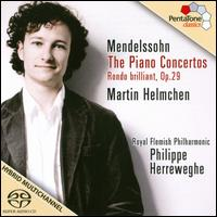 Mendelssohn: Piano Concertos Nos. 1 & 2 - Martin Helmchen (piano); Royal Flemish Philharmonic; Philippe Herreweghe (conductor)