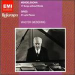 Mendelssohn: Songs Without Words / Grieg: Lyric Pieces