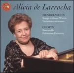 Mendelssohn: Songs without Words; Variations sérieuses; Chopin: Barcarolle; Polonaise-Fantaisie