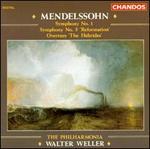 "Mendelssohn: Symphony No. 1; Symphony No. 5 ""Reformation""; Overture ""The Hebrides"""