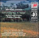 "Mendelssohn: Symphony No. 4 ""Italian""; Octet for Strings, Op. 20"