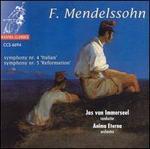"Mendelssohn: Symphony No. 4 ""Italian""/Symphony No. 5 ""Reformation"""