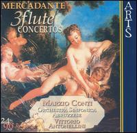 Mercadante: 3 Flute Concertos - Marzio Conti (flute); Orchestra Sinfonica Abruzzese; Vittorio Antonellini (conductor)
