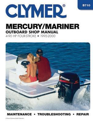 Mercury/Mariner 4-90HP Carburetted 4-Stroke Outboard Engine Manual - Penton