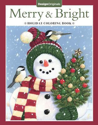 Merry & Bright Holiday Coloring Book - McKeehan, Valerie, and Newland, Jenny, and Pickens, Robin
