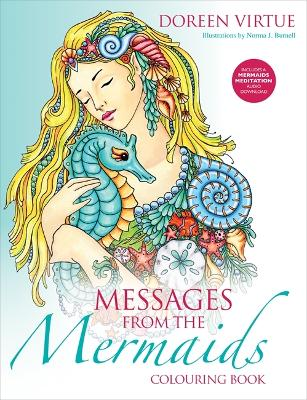 Messages from the Mermaids Colouring Book - Virtue, Doreen