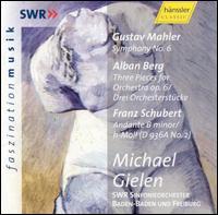 Michael Gielen Conducts Mahler, Berg & Schubert - SWR Baden-Baden and Freiburg Symphony Orchestra; Michael Gielen (conductor)