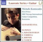 Michalis Kontaxakis: Guitar Recital