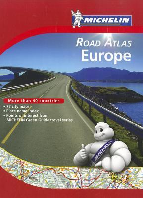 Michelin Road Atlas Europe - Michelin