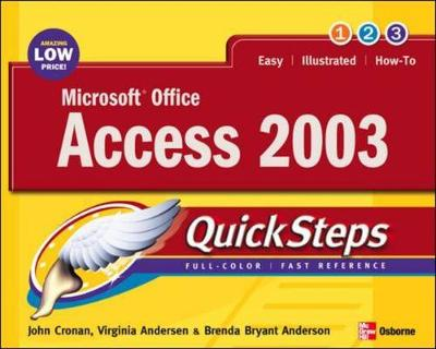 Microsoft Office Access 2003 - Cronan, John, and Andersen, Virginia, and Andersen, Brenda Bryant