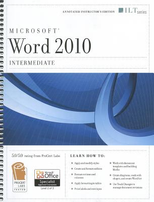 Microsoft Word 2010: Intermediate - Axzo Press (Creator)