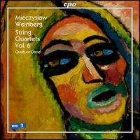 Mieczyslaw Weinberg: String Quartets, Vol. 6 - Quatuor Danel