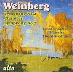 Mieczyslaw Weinberg: Symphony No. 2; Chamber Symphony No. 2