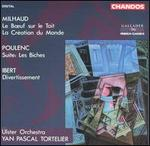 Milhaud, Poulenc, Ibert: Orchestral Works