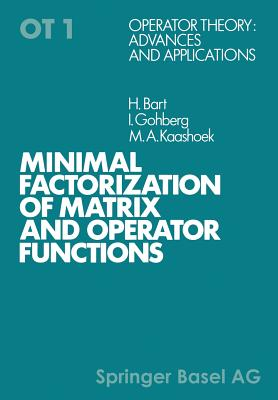 Minimal factorization of matrix and operator functions - Bart, and Gohberg, and Kaashoek