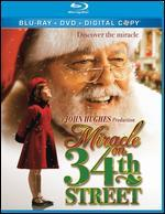 Miracle on 34th Street [2 Discs] [Includes Digital Copy] [Blu-ray/DVD]