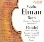 Mischa Elman Plays Bach