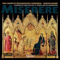 Miserere - Peter Stevens (organ); William Gaunt (baritone); Westminster Cathedral Choir (choir, chorus)