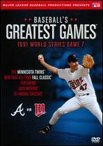 MLB: Baseball's Greatest Games - 1991 World Series Game 7
