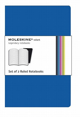 Moleskine Volant Ruled Notebook: Blue Large - Moleskine
