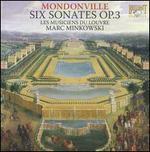 Mondonville: Six Sonates Op. 3