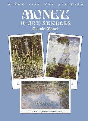Monet: 16 Art Stickers - Monet, Claude