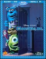 Monsters, Inc. [4 Discs] [Includes Digital Copy] [Blu-ray/DVD] - David Silverman; Lee Unkrich; Pete Docter
