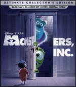 Monsters, Inc. [5 Discs] [Includes Digital Copy] [2D/3D] [Blu-ray/DVD]