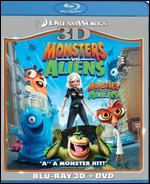 Monsters vs. Aliens [3D] [Blu-ray/DVD]
