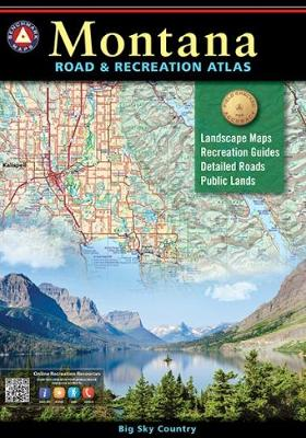 Montana Road & Recreation Atlas, 3rd Edition - Benchmark Maps & Atlases