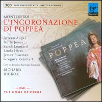 Monteverdi: L'Incoronazione di Poppea - Adrian Thompson (vocals); Arleen Aug�r (vocals); Brian Bannatyne-Scott (vocals); Catherine Denley (vocals);...