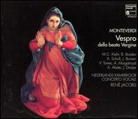 Monteverdi: Vespro della Beata Vergine - Andreas Scholl (alto); Andrew Murgatroyd (tenor); Antonio Abete (bass); Barbara Borden (soprano); Concerto Vocale;...