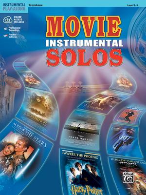 Movie Instrumental Solos: Trombone, Book & CD - Alfred Publishing (Editor)