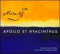 Mozart: Apollo et Hyacinthus - Andrew Kennedy (tenor); Christopher Ainslie (counter tenor); David Shipley (bass); Klara Ek (soprano);...