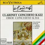 Mozart: Clarinet Concerto in A major; Oboe Concerto in C major