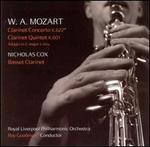Mozart: Clarinet Concerto, K. 622; Clarinet Quintet, K. 601