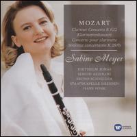 Mozart: Clarinet Concerto, Sinfonia Concertante - Bruno Schneider (horn); Diethelm Jonas (oboe); Sabine Meyer (clarinet); Sergio Azzolini (bassoon); Staatskapelle Berlin;...