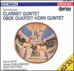 Mozart: Clarinet Quintet; Oboe Quartet; Horn Quintet