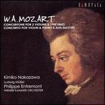 Mozart: Concertone; Concerto for Violin & Piano