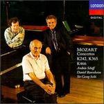 Mozart: Concertos K242, K365, K466