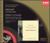Mozart: Così fan tutte - Elisabeth Schwarzkopf (vocals); Léopold Simoneau (vocals); Lisa Otto (vocals); Nan Merriman (vocals);...