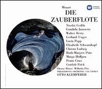 Mozart: Die Zauberflöte - Franz Crass (vocals); Gerhard Unger (vocals); Gottlob Frick (vocals); Gundula Janowitz (vocals); Josephine Veasey (vocals);...