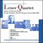 Mozart: Divertiment, K 334; Beethoven: Septet