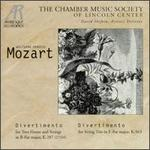 Mozart: Divertimenti, K287 & K563 - Ani Kavafian (violin); Carmit Zori (violin); Chamber Music Society of Lincoln Center (chamber ensemble); Fred Sherry (cello);...