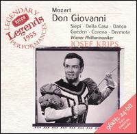 Mozart: Don Giovanni - Anton Dermota (vocals); Cesare Siepi (vocals); Fernando Corena (vocals); Hilde Güden (vocals); Kurt Boheme (vocals);...