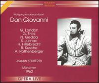 Mozart: Don Giovanni - Albrecht Peter (vocals); Anneliese Rothenberger (vocals); Benno Kusche (vocals); George London (vocals);...