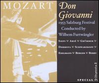 Mozart: Don Giovanni - Anton Dermota (tenor); Cesare Siepi (baritone); Elisabeth Grümmer (soprano); Elisabeth Schwarzkopf (soprano);...