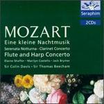 Mozart: Eine kleine Nachtmusik; Serenata Notturna; Clarinet Concerto; Flute and Harp Concerto