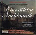 Mozart: Eine kleine Nachtmusik; Three Divertimenti for Strings